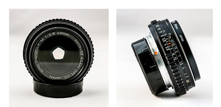 SMC Pentax-M f2.8 40mm Lens